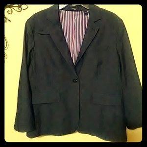 Liz Claiborne Denim Blazer Size 16